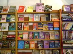 Books books everywhere!
